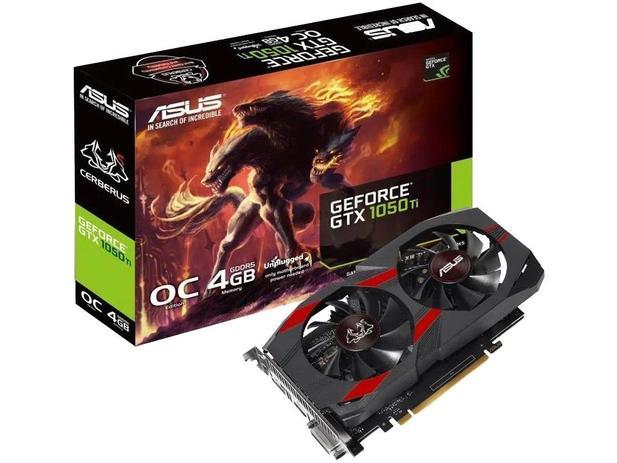 Imagem de Placa de Vídeo Asus GeForce GTX 1050 TI