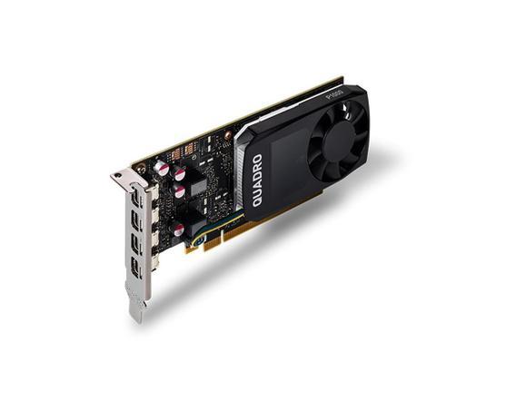 Imagem de Placa de vídeo pny nvidia quadro p1000 4gb ddr5 128bits - vcqp1000-porpb - esp