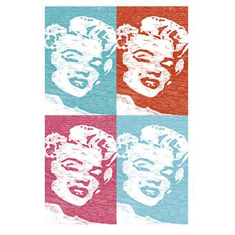 Imagem de Placa Decorativo em MDF 22x33 Marilyn Monroe DHPM5-136 - Litoarte