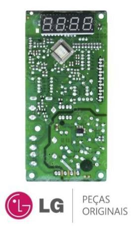 Imagem de Placa Display 110v 220v Microondas LG MS3044L