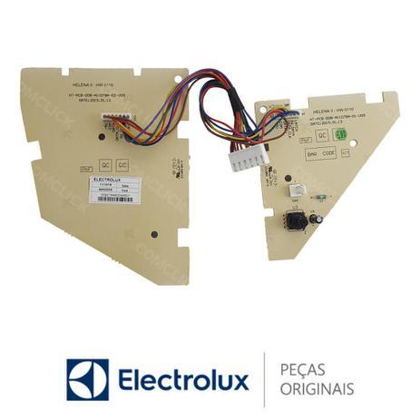 Imagem de Placa Display / Interface 64502035 / HT-PCB-008-A11078A-D2-V09 Lavadora Electrolux LP12Q LTP12