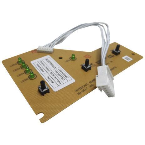 Imagem de Placa eletrônica interface com chicote lavadora electrolux 64502207