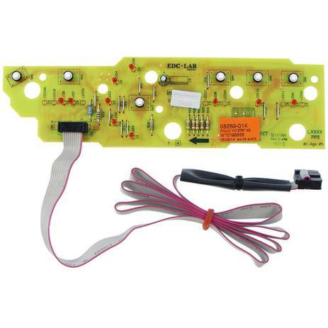 Imagem de Placa eletronica interface lavadora brastemp 110v w10198866