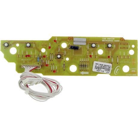 Imagem de Placa eletronica interface lavadora brastemp 127v w10605804