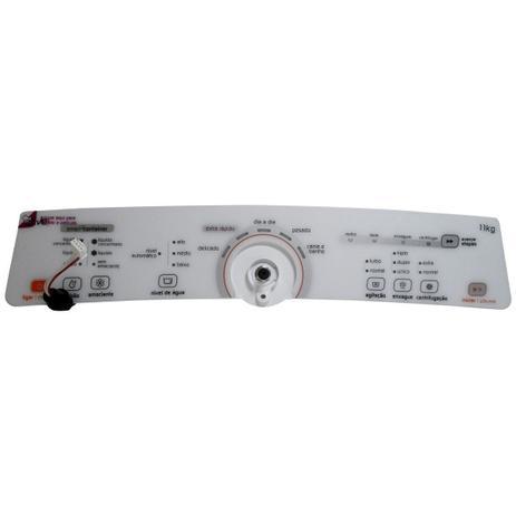 Imagem de Placa Eletrônica Interface Lavadora Brastemp Bivolt Console Branco W10463579