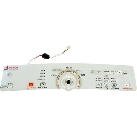 Imagem de Placa eletronica interface lavadora brastemp finlandia 11 kg mid com suporte e adesivo 127v 220v bra