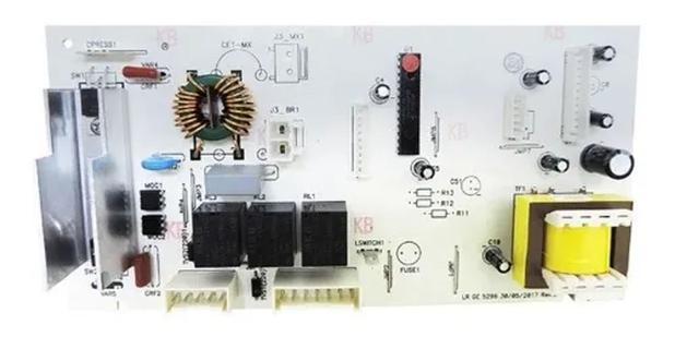 Imagem de Placa eletronica lavadora de roupas ge 15kg 3-botões 127v (909018765)