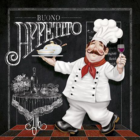 Imagem de Placa em MDF e Papel Decor Home Bueno Appetito DHPM-104 - Litoarte