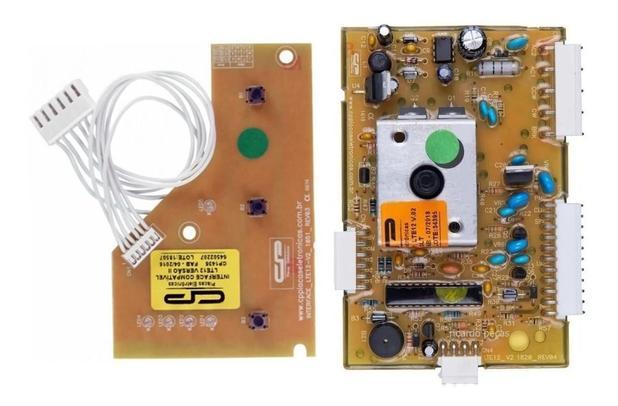 Imagem de Placa Interface Electrolux Lte12 Turbo Economia 12kg Versão2