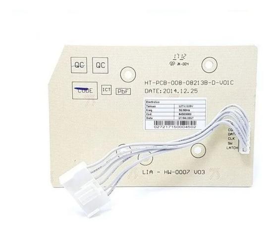 Imagem de Placa Interface Lavadora de Roupas Electrolux LT09B Led Azul 64503062 (9090201798)