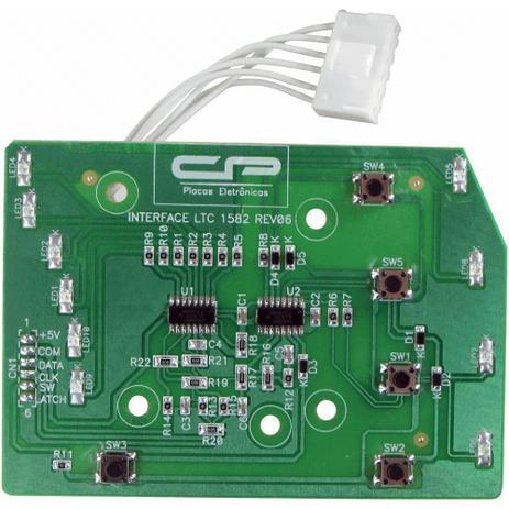 Imagem de Placa Interface Lavadora Electrolux CP1435 LT15 LTC10