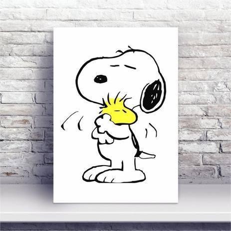 Placa Mdf Desenho Snoopy Conspecto Placa Decorativa Magazine