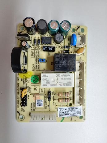 Imagem de Placa potencia electrolux geladeira dfn39 / dfx39 - 70202973 bivolt
