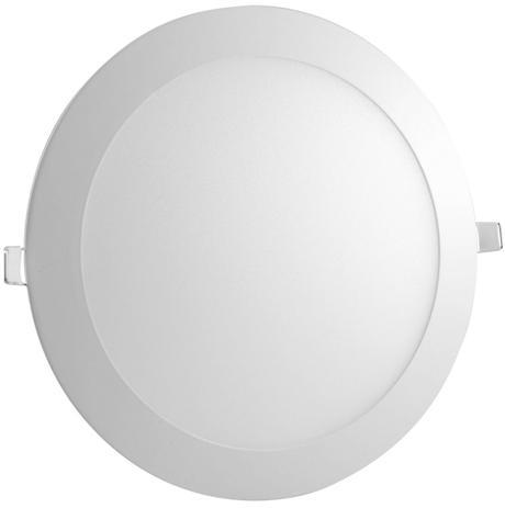 Imagem de Plafon LED Embutir Redondo 18W Luminária LED Embutir