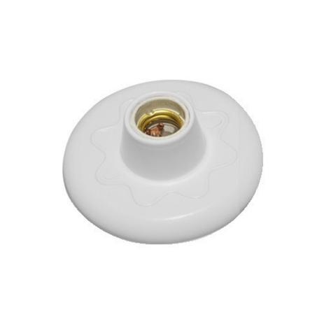 Imagem de Plafon Simples Para Uma Lâmpada Branco