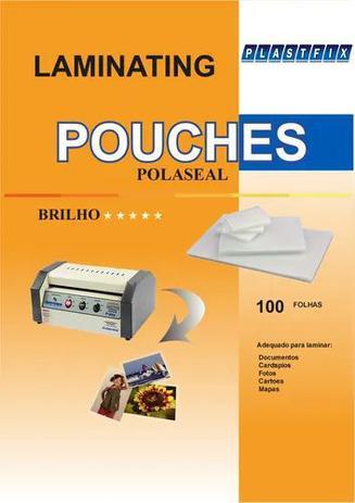 Imagem de Plastico Para Plastificação Polaseal - Ofício 222x336x0,05  100 Unidades