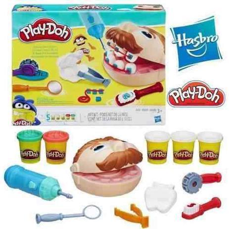 118f1c771e Play-doh Brincando De Dentista B5520 Hasbro - Massinha - Magazine Luiza