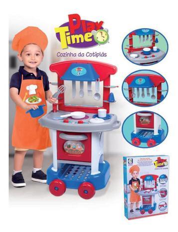 Imagem de Play Time Cozinha Menino - Cotiplás