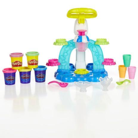 272bd04653 PlayDoh Conjunto Sorveteria Divertida - Hasbro - Play-doh - Massinha ...