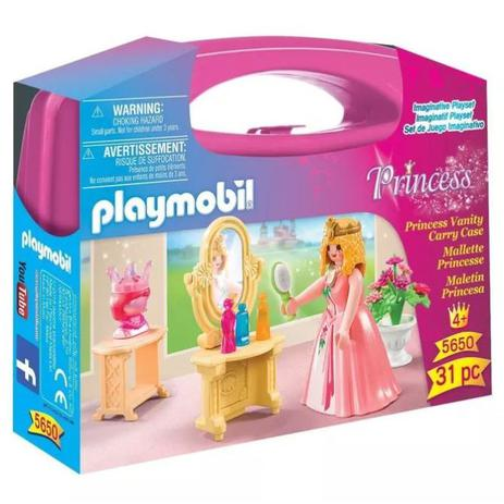 fb2c8ec64 Playmobil Maleta Princesa Vaidosa - Sunny - Blocos de montar ...
