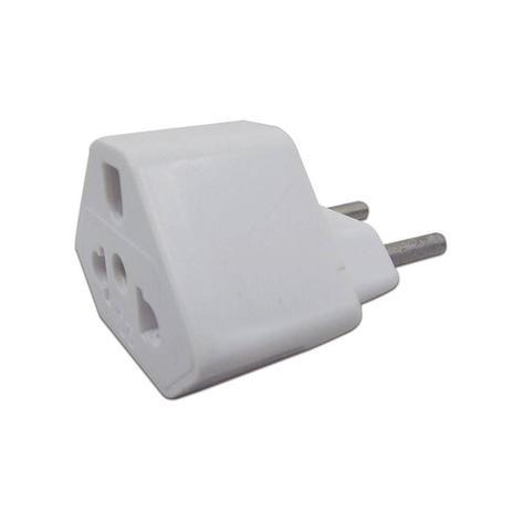 Imagem de Plug Adaptador de Tomada Branco 20A Universal
