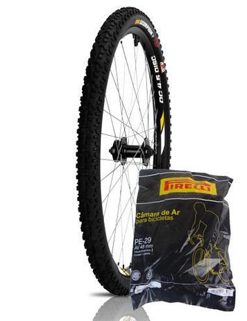 9e3575ce7 Pneu Bicicleta 29 X 2.00 Pirelli Scorpion MB3 + Câmara Bico Grosso Pirelli  29X1.75 2.35