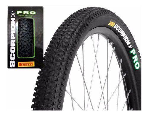 Imagem de Pneu Bicicleta Pirelli Aro 29 2.20 Mtb Scorpion Pro Kevlar