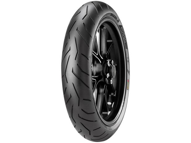 """Imagem de Pneu Moto Aro 17"""" Dianteiro Pirelli 120/70 58W(K)"""