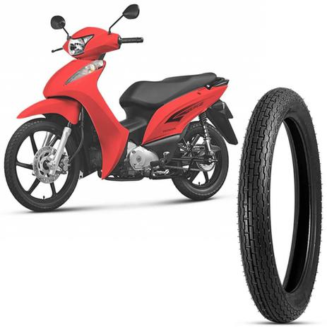 Imagem de Pneu Moto Biz 125 Levorin by Michelin Aro 17 2.50-17 43P Dianteiro Dakar Evo