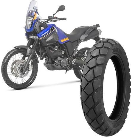 Imagem de Pneu Moto XT 660Z Tenere Technic Aro 17 130/80-17 65s Traseiro T&C Plus
