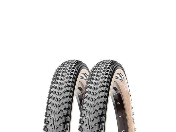 Imagem de Pneus de Bicicleta Maxxis Ikon EXO Skinwall Faixa Bege 29 x 2.20 Mtb Kevlar Par