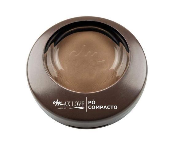 Imagem de Po Compacto Max Love Cor 24 Chocolate 11g