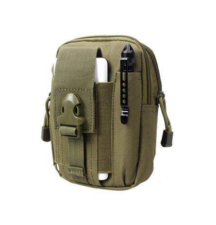 rivenditore online up-to-date styling selezione migliore Pochete Tática Militar Bolsa De Cintura - Verde Oliva - Ultravendas