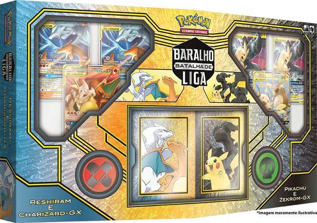 Imagem de Pokemon Baralho Batalha de Liga