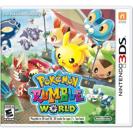 Imagem de Pokemon Rumble World - 3Ds