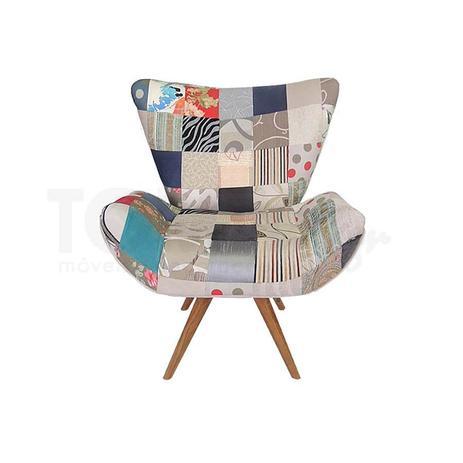Imagem de Poltrona Flor Patchwork Clássico - Tommy Design
