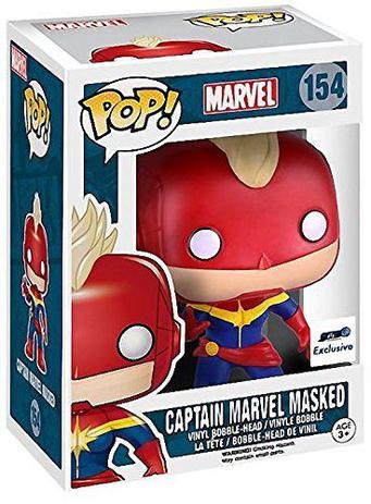 Imagem de Pop funko 154 captain marvel masked gts exclusive