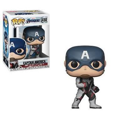 Imagem de Pop! Funko Marvel End Game  Ultimato - Capitão América  450