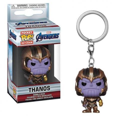 Imagem de Pop! Keychain Thanos Avengers chaveiro