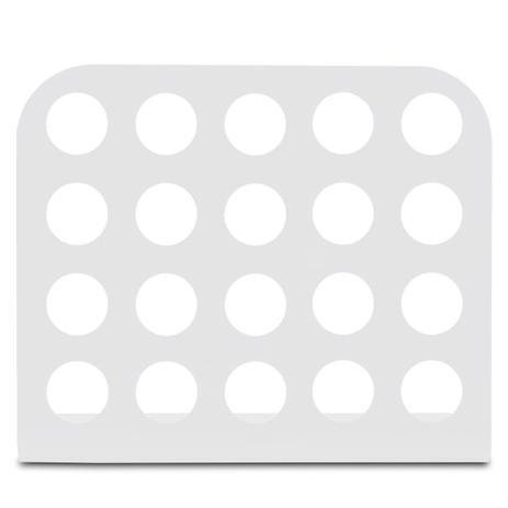 313633be5 Porta Cápsula Acrílico - Compatível com Cápsulas Nespresso - Branco - 20 un.