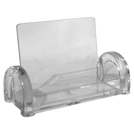 Imagem de Porta cartao de mesa acrilico cristal / un / menno