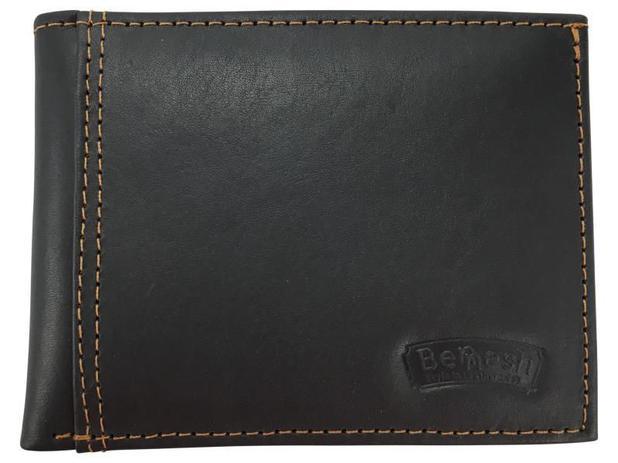 fef00ecdf8 Porta Cartões Carteira Masculina em Couro Bennesh T43-531 - Carteira ...