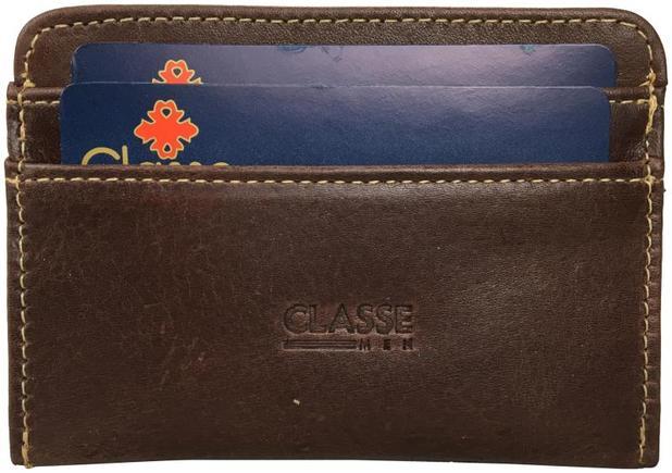 02145f38d9 Porta Cartões em Couro Classe PC61 - Classe couros - Carteira ...