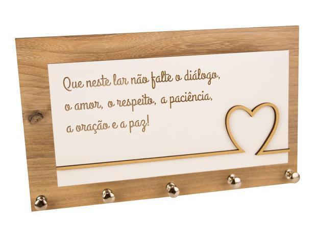 Imagem de Porta Chaves e Cartas Paz em Familia