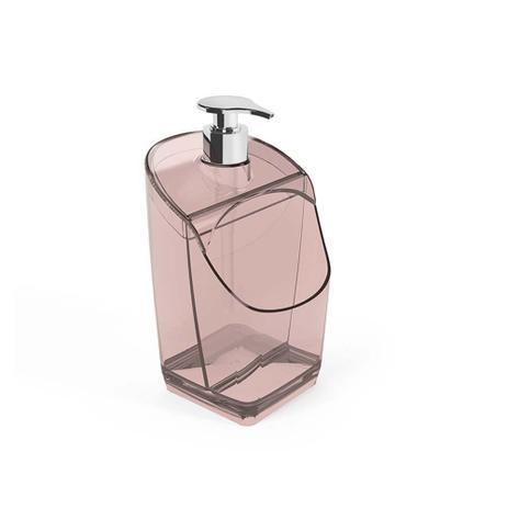 Imagem de Porta Detergente e Bucha para pia de cozinha Translucido
