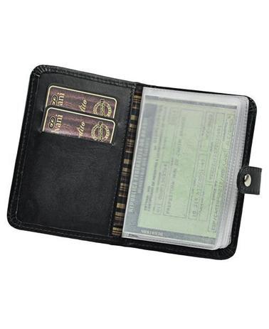 c09157a96ab3e Porta Documentos de Veículo Sky em Couro legítimo - Galvani - Porta ...