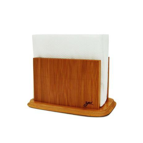 Imagem de Porta guardanapos de mesa em bambu Napkin 19x11x11 TYFT