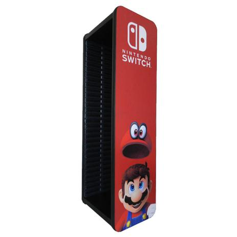 Imagem de Porta Jogos para Nintendo Switch Capacidade 30 Jogos
