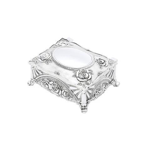 Imagem de Porta-jóias oval em zamac Prestige 9,8cm
