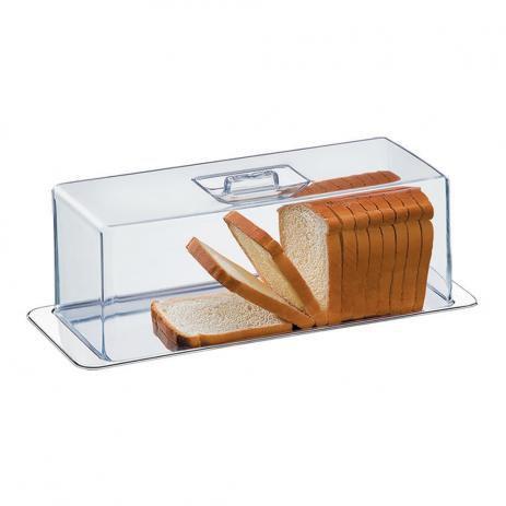 Imagem de Porta Pão Torta Fria Rocambole 2 Peças Átina 1419100 Brinox